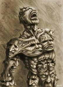 many demons in body